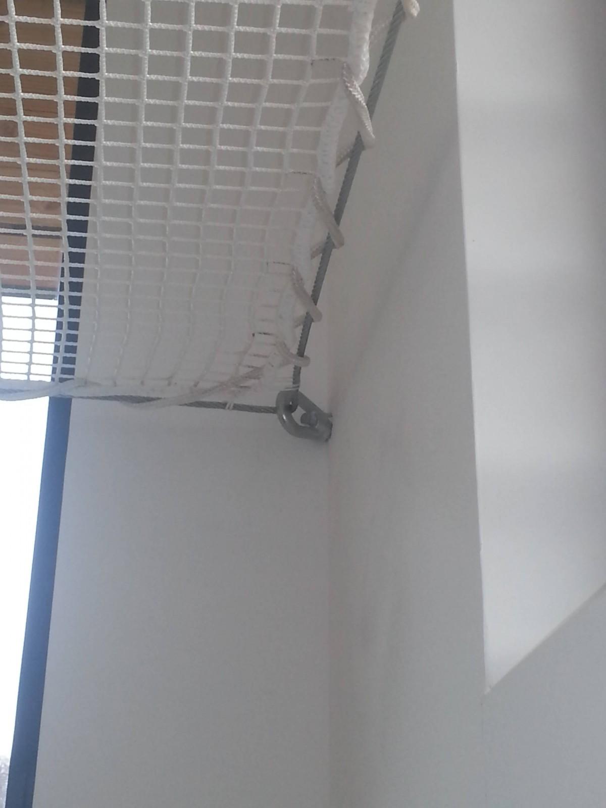Faux plafonds et structure bois support de filet d - Filet d interieur ...