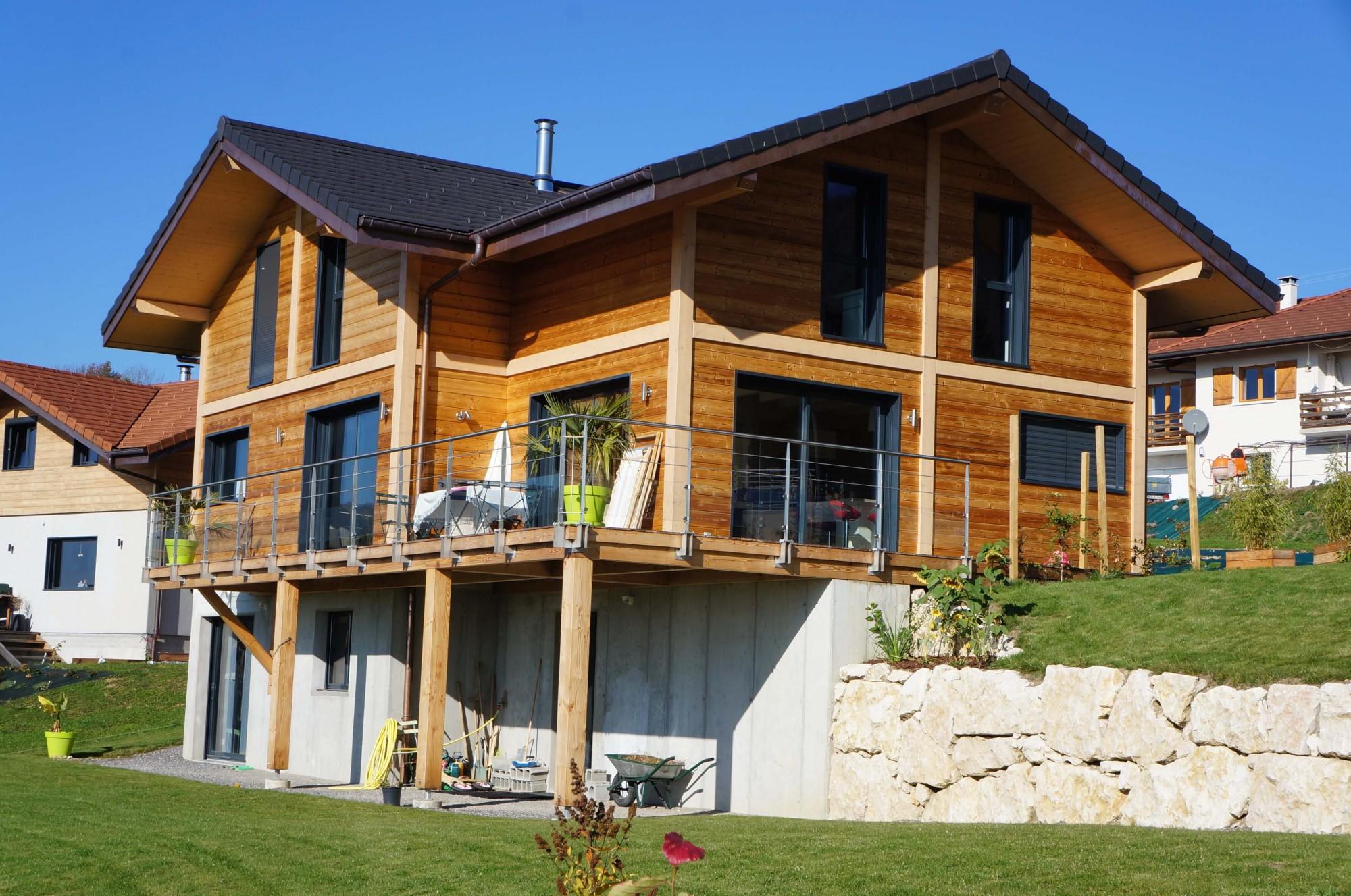Jolly construction bois imaginer construire r nover for Construction en bois neuchatel