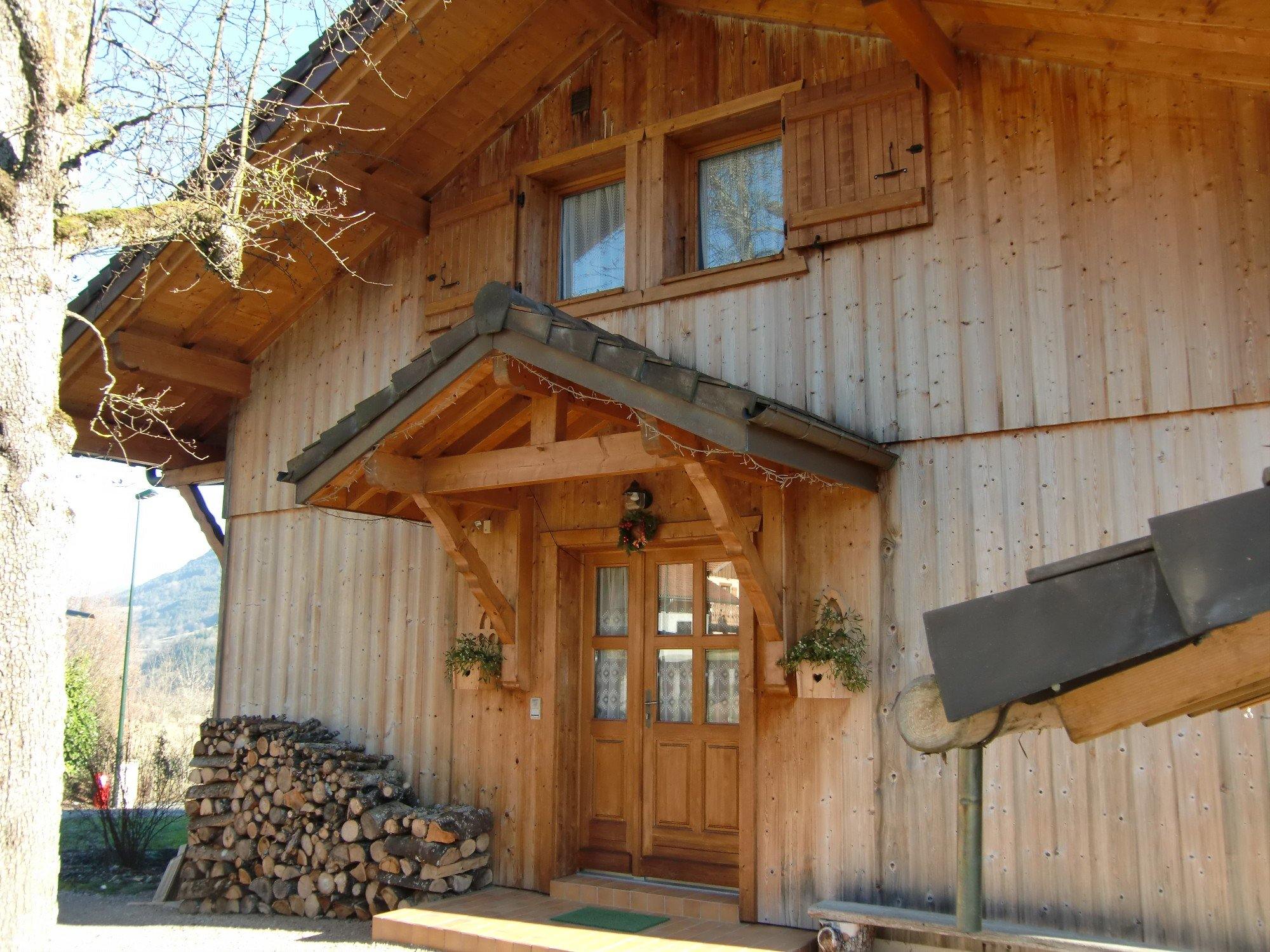 Chalet Sur Vailly Jolly Construction Bois
