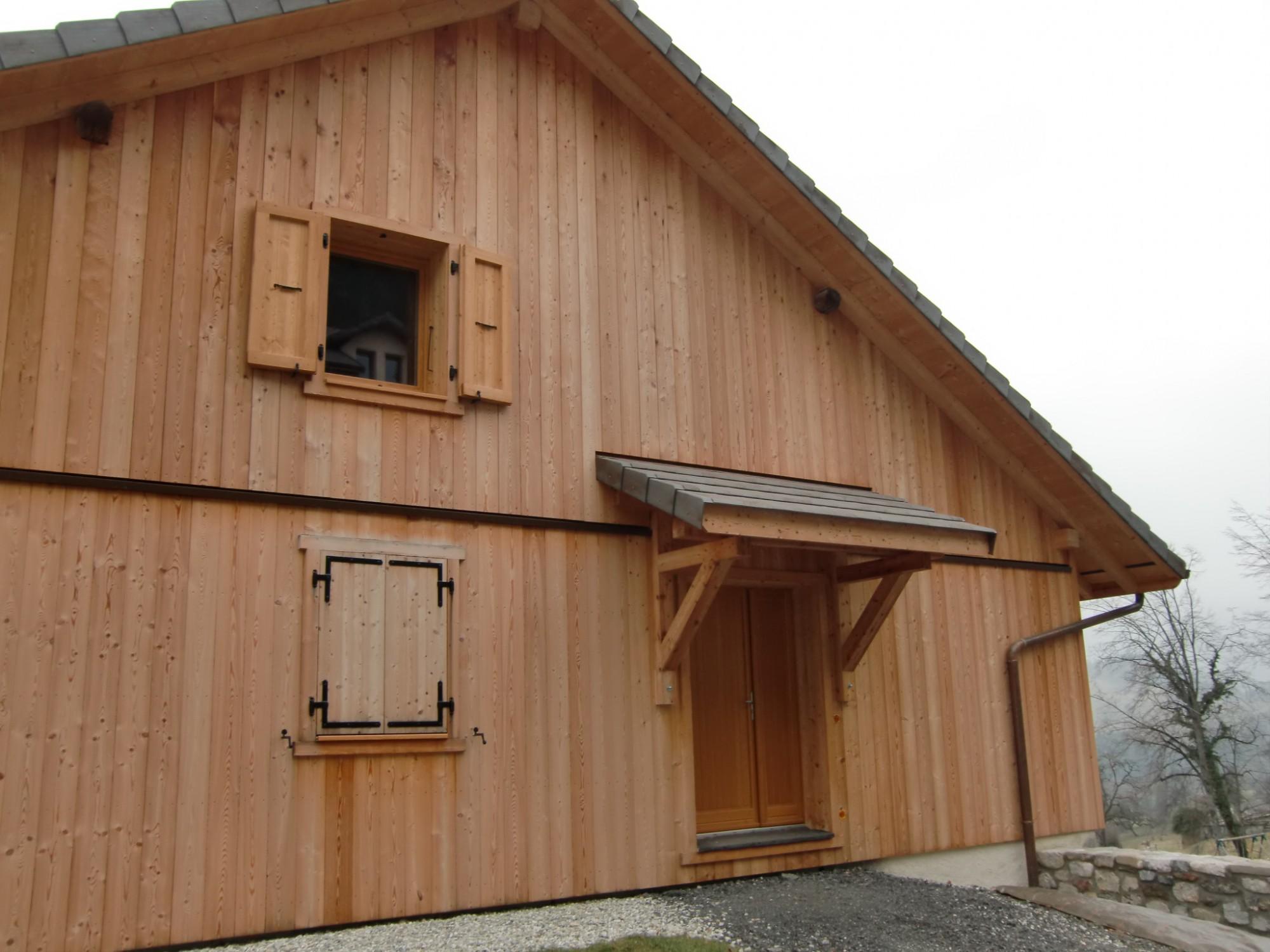 Rénovation ferme Haute-Savoie 2