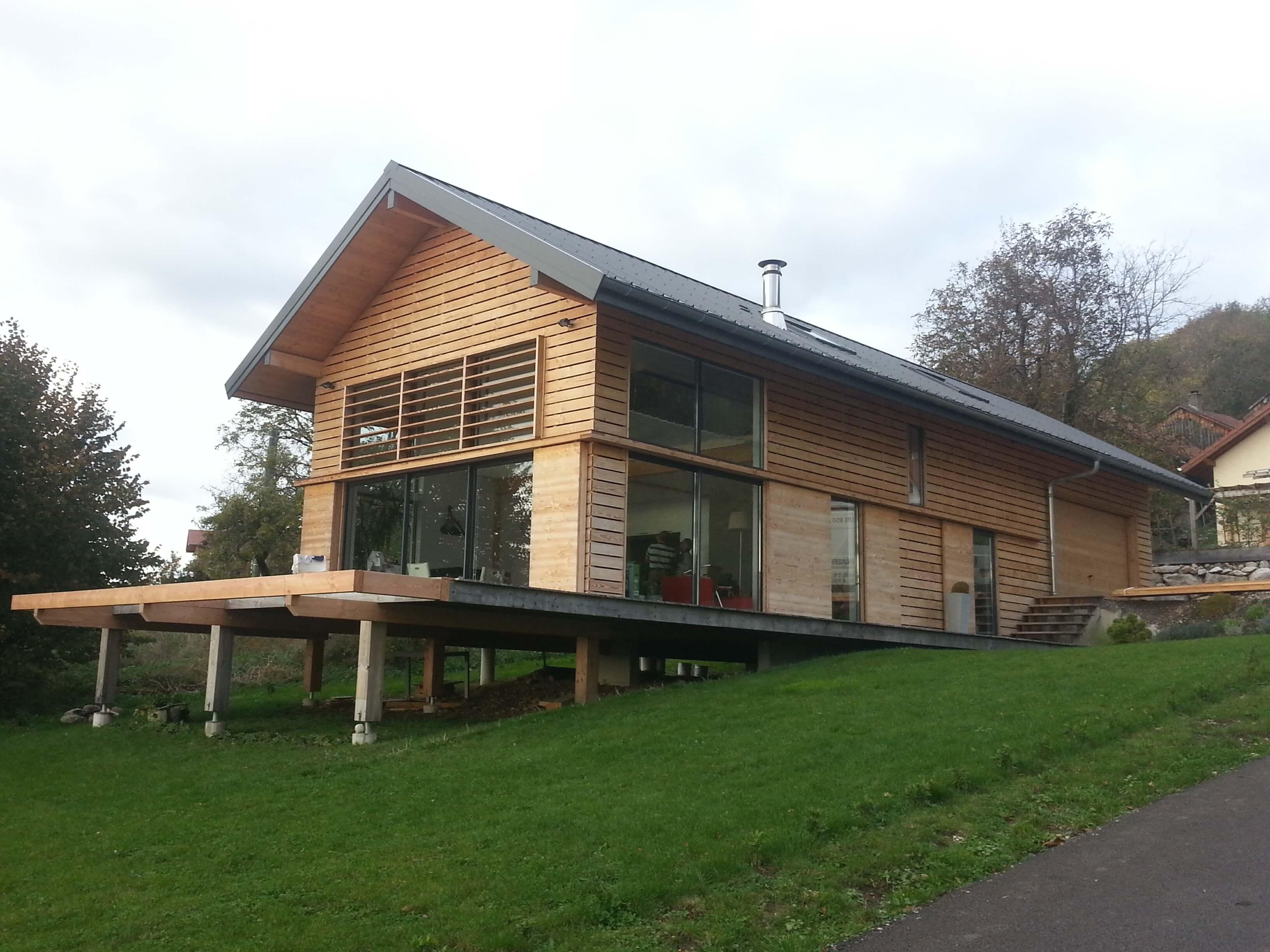 Notre savoir faire jolly construction bois for Construire sa maison sur un terrain agricole